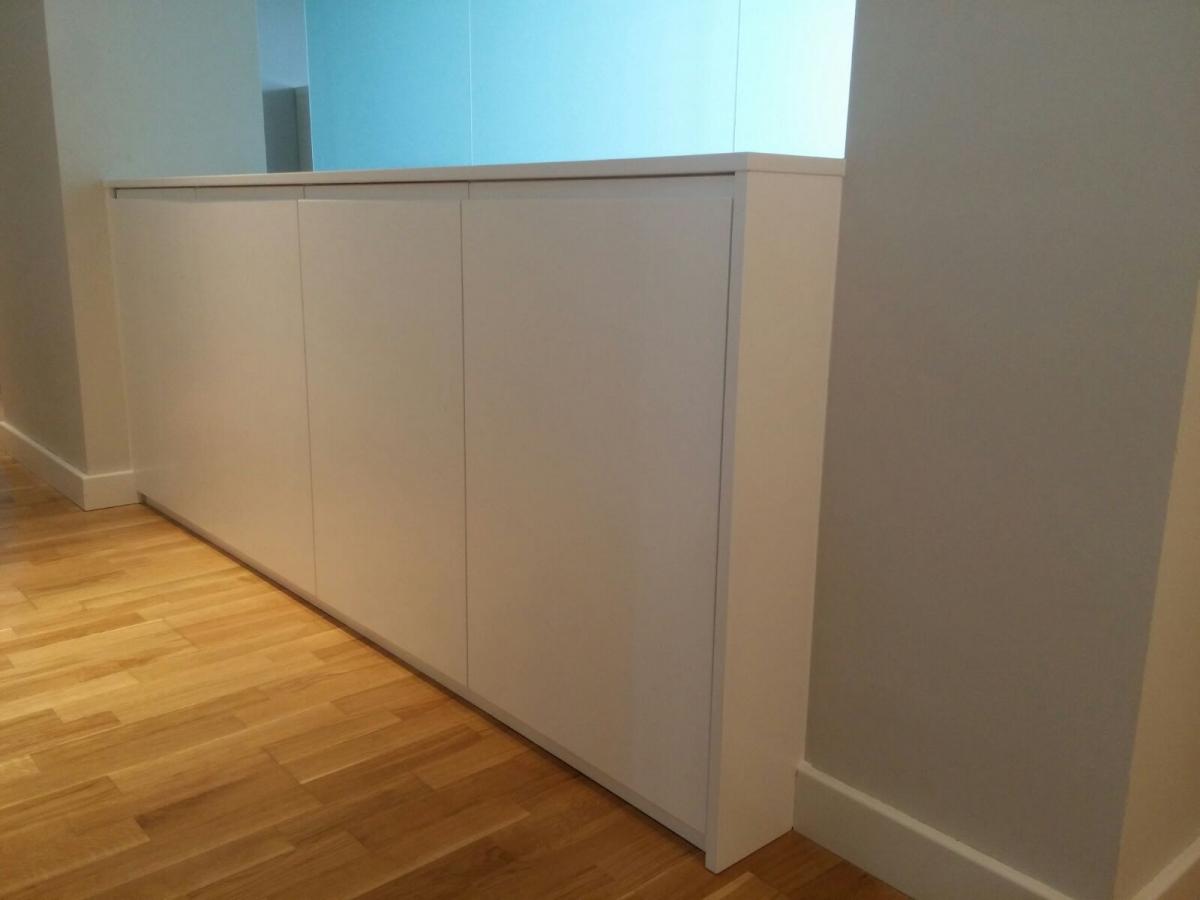 Armario zapatero a medida cheap ahorro de espacio muebles for Armario zapatero pvc